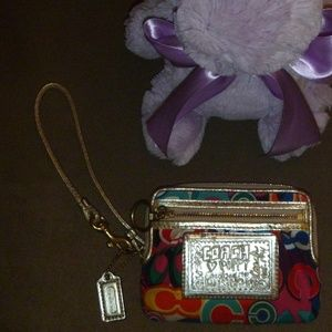 Coach Poppy Small Wristlet
